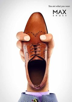 MAX Shoes - You are what you wear. #adv #print #advertising