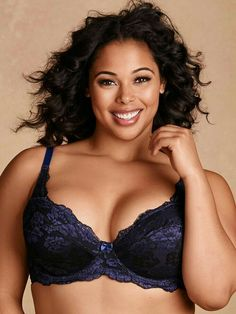 b7c2452a9e8 More than a little lacey bra! Our plus size Darcie Soft Lace Bra is  stunning and supportive! This gorgeous demi bra is made in a soft lace with  cotton ...