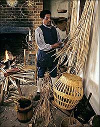 1985 photo of basketmaker