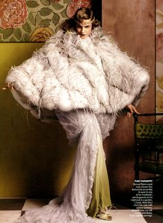 Vogue US - May 2007 - Fashioning the Century by Hamish Bowles - Model: Natalia Vodianova - Styled by Grace Coddington - Photo by Steven Meisel - Style: Designer Paul Poiret - Watsonette Paul Poiret, Natalia Vodianova, Steven Meisel, French Fashion, Modern Fashion, Vintage Fashion, High Fashion, Patrick Demarchelier, Foto Fashion