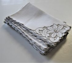 Square Coaster Set Cork Backed Shabby Chic Vintage Heart Plain White Home Decor