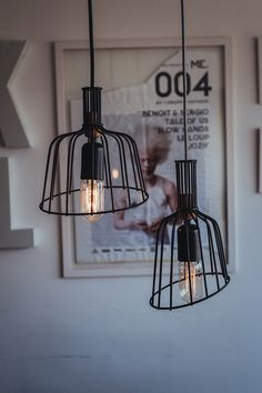 Decoration, Art Decor, Diy Home Decor, Lamp Design, Lighting Design, Bedroom Decor Pictures, Luminaria Diy, Creative Lamps, Minimalist Room