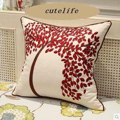 Cutelife 4001 - Cotton Linen Decorative Throw Pillow Cover - Red Life Tree CuteLife http://www.amazon.com/dp/B00LTPLHIO/ref=cm_sw_r_pi_dp_IFu7ub12KR6HZ