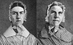 Sarah & Angelina Grimke, born to a slave-owning supreme-court judge in Charleston, they fled north, where their deep personal revulsion to slavery led them to become the first females to speak in public in the US. Women In History, History Facts, World History, Black History, Great Women, Amazing Women, Brave, We Will Rock You, Interesting History
