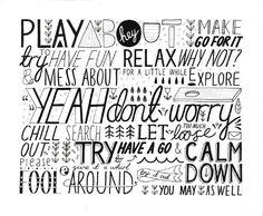 fun typography