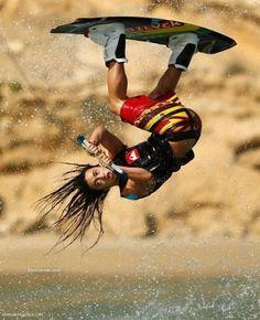 water skiing and arobotics