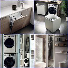 espacio lavanderia scavolini Stacked Washer Dryer, Washer And Dryer, Washing Machine, Barcelona, Laundry, Home Appliances, Modern Furniture, Modern Kitchens, Furniture Design