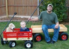 Kid and Dad Wagons!