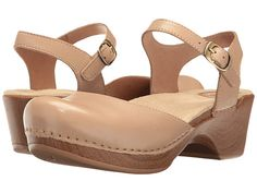 Dansko Sam Have and Love these! But for dresses! Wish there was something similar (closed toe/clog/slide) for summer??