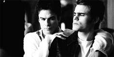 Ian Somerhalder & Paul Wesley - Damon & Estefan Salvatore