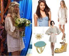 Jessa's impromptu wedding dress from Girls