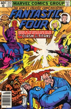 I owned this book. The story was--pardon the pun--fantastic.  Fantastic Four #212 by Walt Simonson