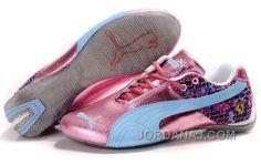http://www.jordanaj.com/womens-puma-ferrari-in-pink-blue-gray-free-shipping.html WOMEN'S PUMA FERRARI IN PINK/BLUE/GRAY FREE SHIPPING Only $88.00 , Free Shipping!