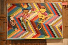 New Banksy's and More at MOCA's Art in the Streets - My Modern Met by Os Gemeos