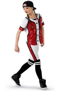 Weissman® | Hip-Hop Baseball Uniform Costume