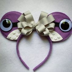 Boo Monsters Inc inspired Minnie Mouse Ears by MakeMeMinnie