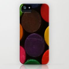 Colourful Crayons iPhone & iPod Case by TheseRmyDesigns