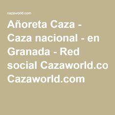 Añoreta Caza - Caza nacional - en Granada - Red social Cazaworld.com