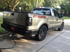 Ford F150 100% Electric Vehicle Conversion by Electric Car Pledge in Other Other. Click to view more photos and mod info.