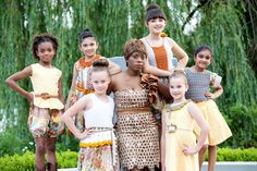 "Anzhelika Crochet ""Tribe Collection"" handmade crochet & sewn children apparel"
