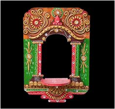 Inspired by culture of Rajasthan, this magnificent wooden Jharokha will give a new dimesion to your home décor.