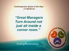 Contemporary Quote of the Day:- (11/06/2014):- by Enship/Innovation via slideshare