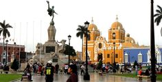 Internet 3G no Peru - Plaza de armas de Trujillo