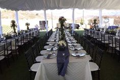 Allie's Party Rental Tent and Pole Draping