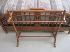 Tell City Quilt Rack 3297 Andover Finish Perfect Condition | eBay.  $140