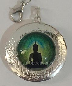New Vintage Style Buddha Enlightment Locket Necklace - Silver bf Silver Locket Necklace, Pendant Necklace, Buddha Jewelry, Vintage Fashion, Vintage Style, Fashion Necklace, Jewelery, Pendants, Turquoise