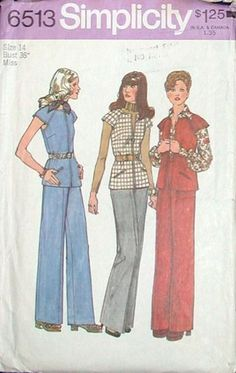 Simplicity 6513 Misses unlined vest and by HeavenztoBetsyDesign