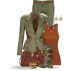 """""""* MILITARY CHIC *"""" by hrfost1210 on Polyvore"""