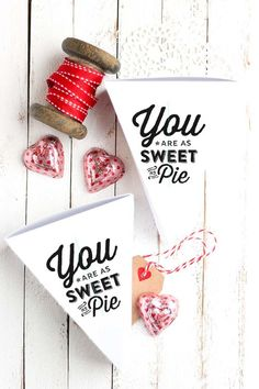 """""""Sweet as Pie"""" Boxes"""