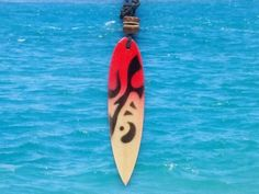 Surfboard Pendant Necklace, Handmade, Tribal, Surf Board Charm, beach jewelry, by Bulebeads, near Woolacombe beach. Surf Necklace, Pendant Necklace, Woolacombe Beach, Beach Jewellery, Surf Board, Ocean Waves, Back To Black, Apollo, Handmade Necklaces