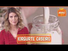 Iogurte Caseiro   Rita Lobo   Cozinha Prática - YouTube No Salt Recipes, Sweet Recipes, Chefs, Kefir, Creative Food, Milkshake, Coco, Cooking Tips, Coffee Cans