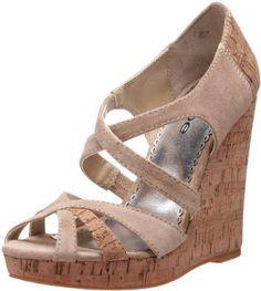 bebe Women's Nakita Wedge Sandal