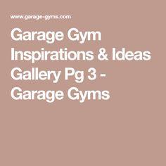 Garage Gym Inspirations & Ideas Gallery Pg 3 - Garage Gyms