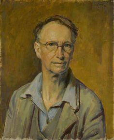 Henry Lamb – Self-Portrait, 1950, Oil on canvas, 56x46 cm | National Portrait Gallery, London