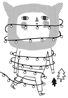 Illustrator, living in Madrid. Dear Santa, Illustrators, Xmas, Picture Books, Madrid, Artists, Merry Christmas, Bias Tape, Illustrations
