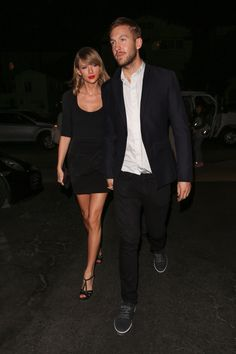 Taylor and Calvin. Just thought I'd share a picture of the adorable couple.