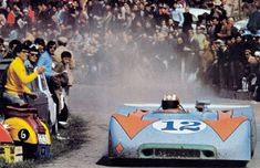 Jo Siffert / Brian Redman, #12 Porsche 908/03, Targa Florio 1970 (1st)