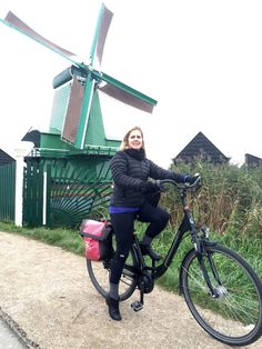 Amsterdam, October 2015: Not far from Zaandam, we came upon a rustic Dutch village with numerous windmills. Before the week was out we would pedal past nearly 100 windmills.