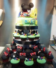 Playhouse Disney Cupcake Tower.. @Savannah Michaelsen...BIRTHDAY PARTY?