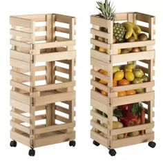 Make these simple junk-style fruit crate shelves and add some more storage space to your home. Wooden Pallet Furniture, Handmade Furniture, Diy Furniture, Luxury Furniture, Antique Furniture, Rustic Wood Shelving, Wood Shelves, Crate Shelves, Diy Bedroom Decor