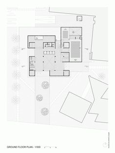 Innovation Center UC – Anacleto Angelini / Alejandro Aravena | ELEMENTAL - Ground Floor Plan
