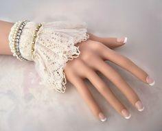 vintage lace bracelets - Buscar con Google