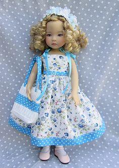 """Tenue pour poupée Little Darling 13"""" de Dianna Effner - Robe Sac"""