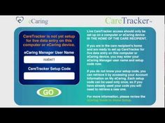 How do I set up eCaring in my aging parent's home? This video guide walks you through all of the steps you need to start using eCaring in the home. The eCaring System provides valuable information about the daily care and management of seniors living at home and those with chronic conditions. #aging #homecare #homehealth #healthcare #boomers #mhealth #healthit #remote #caregiver #caregiving #ecaring
