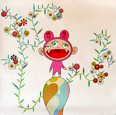 Takashi Murakami biography and art for sale. Buy art at exclusive members only pricing at the leading online contemporary art marketplace. Superflat, Takashi Murakami Art, Tokyo, Japanese Artists, Japanese Culture, Asian Art, My Idol, Contemporary Art, Fine Art Prints