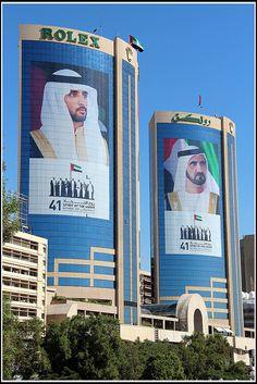 Rolex Buildings in AI Ras, Dubai_ United Arab Emirates